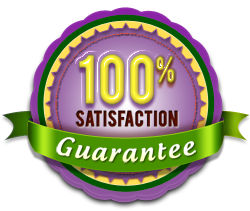 Picture of guarantee seal - 100% satisfaction guarantee