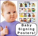 Baby Signing Posters for sale!