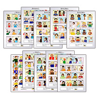Baby Sign Language Printable Posters Dictionary Charts