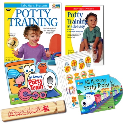 Baby Signs® Potty Training Kit
