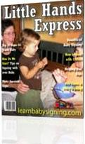 Little Hands Express magazine cover